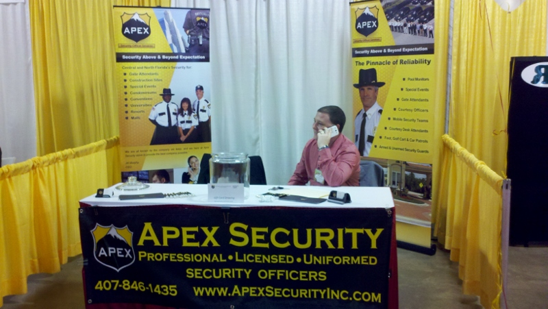 Apex Proud To Be At Aago Trade Show Security Guards